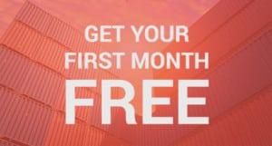 Portable Storage Rentals 1st Month Free