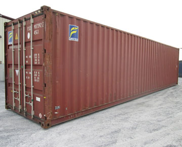 40 foot high cube storage container for sale rent