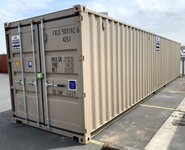 40 foot steel storage container
