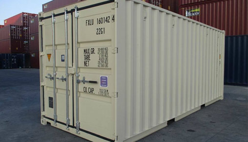 new 20ft steel storage container