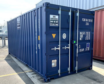 rent 20 foot ft steel storage container