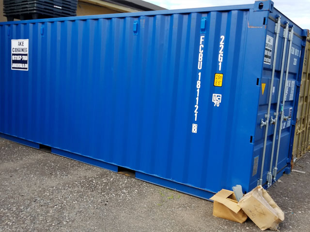 used containers for rent