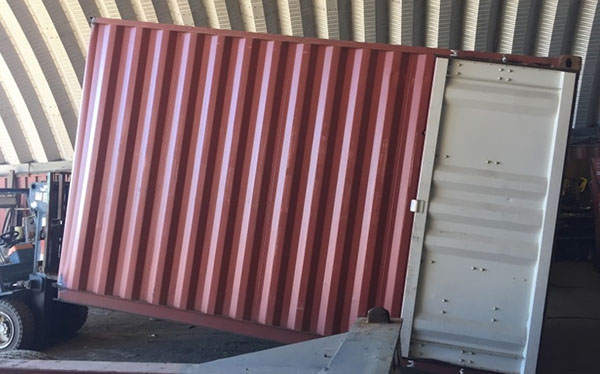steel containers cutdowns