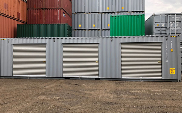 steel container roll up doors
