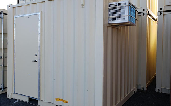 Modify Shipping Containers doors