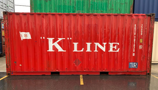 Used 20 foot storage container for sale NJ