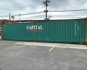 40 foot used shipping containers