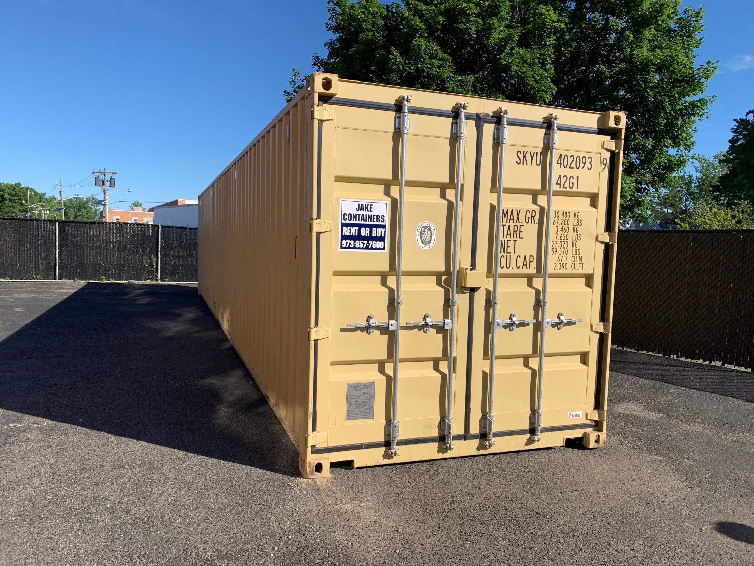 40 foot container rental morristown new jersey