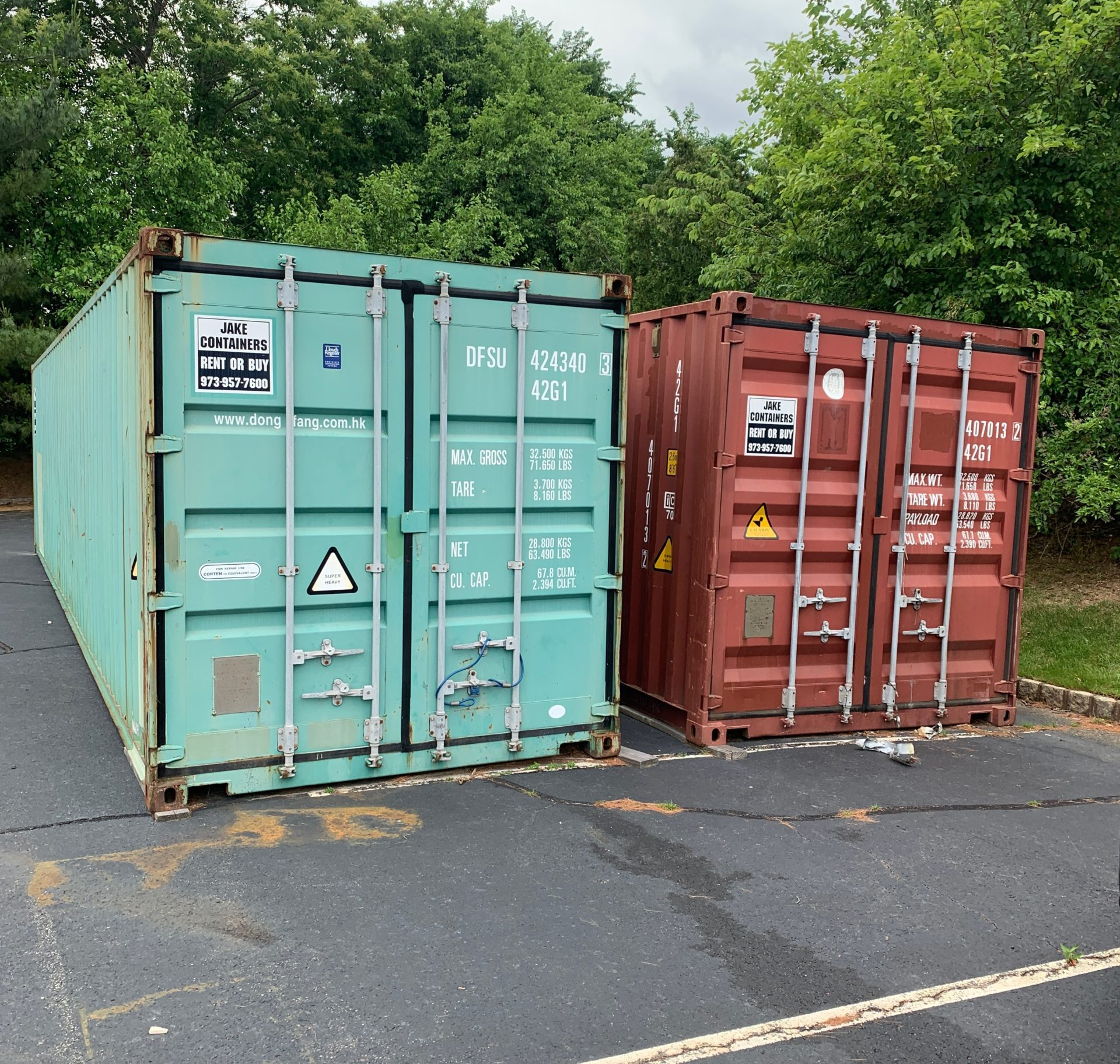 40 foot used container rental new jersey school