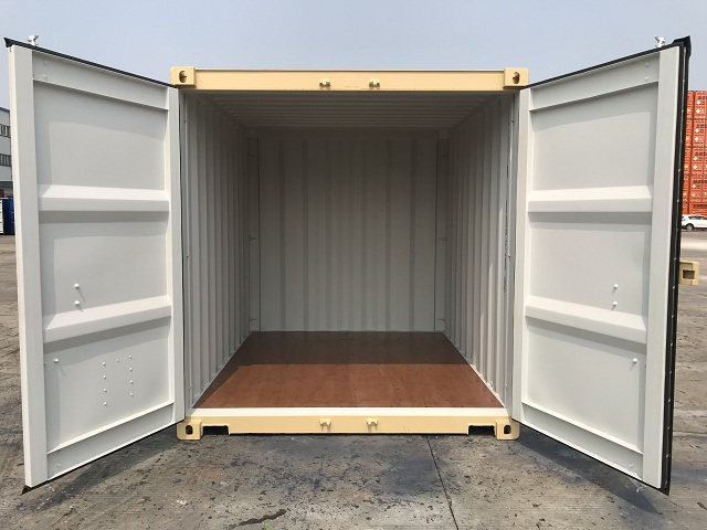 Shipping container floor