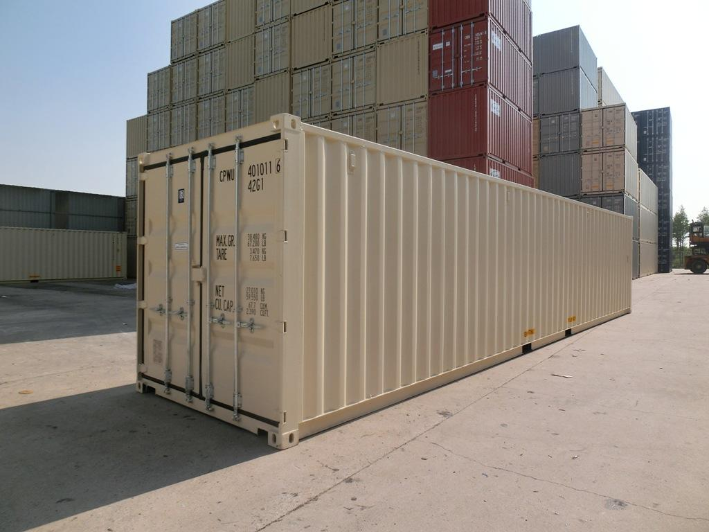 40 foot New vs. Used Containers