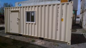 steel container office modification